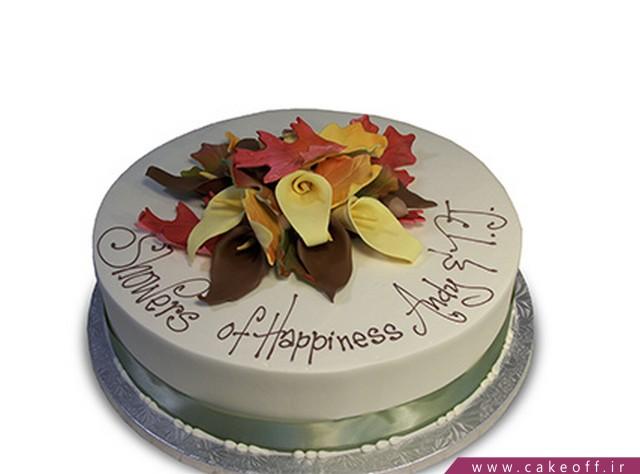کیک پاییز - کیک خش خش برگ های پاییزی | کیک آف