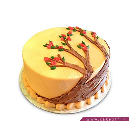 سفارش کیک با تم پاییز - کیک پاییز مبارک | کیک آف