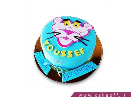 کیک تولد بچه - کیک پلنگ صورتی 9 | کیک آف