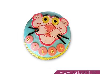 کیک تولد بچه - کیک پلنگ صورتی 8 | کیک آف