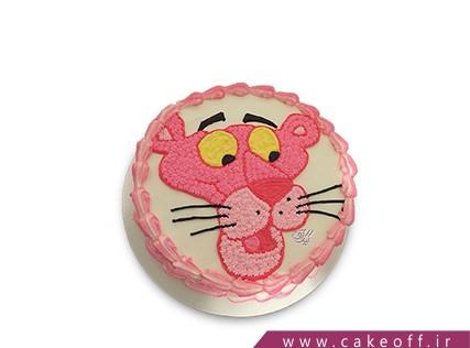 کیک تولد بچه - کیک پلنگ صورتی 7 | کیک آف