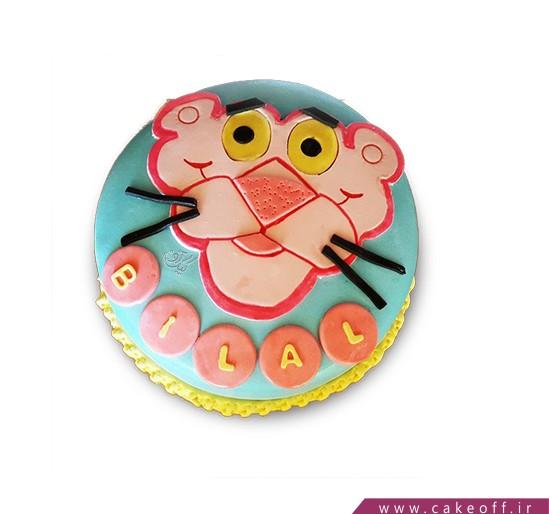 کیک پلنگ صورتی 8
