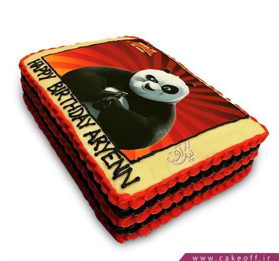 کیک پاندای کونگ فوکار 8