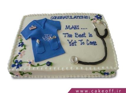 کیک روز پزشک - کیک پرستار -  کیک جراح دوست داشتنی | کیک آف