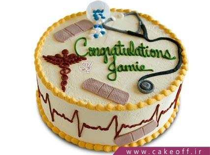کیک روز پزشک - کیک روز پرستار نرسی | کیک آف
