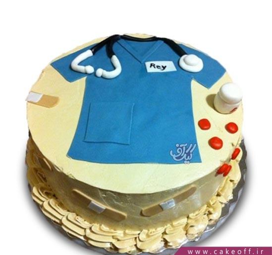کیک روز پزشک - کیک پزشک جسور | کیک آف