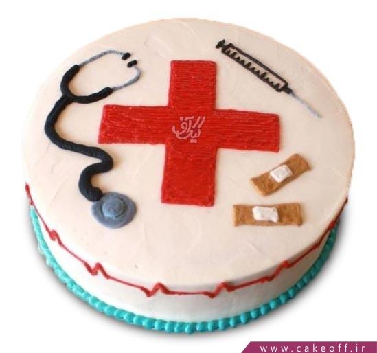 کیک پرستاری ماهرانه