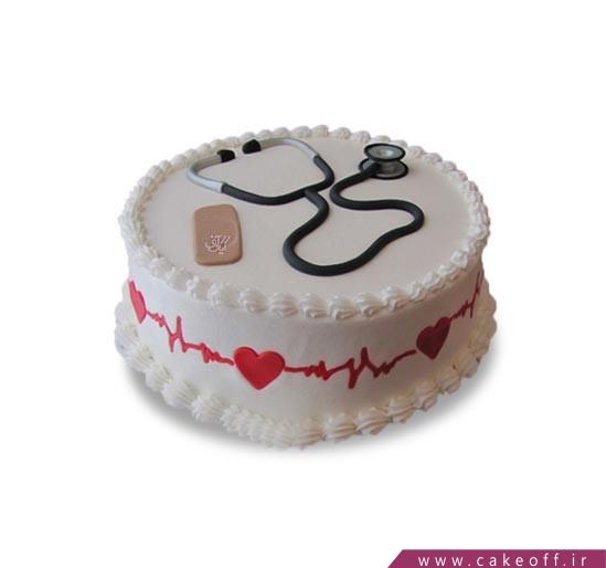 کیک روز پزشک - کیک پرستاری - کیک پرستار هم نشین  | کیک آف