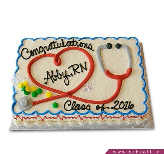 کیک پرستار مهربان بیمارستان