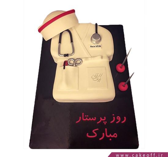 کیک روز پرستار - کیک یک پرستار | کیک آف