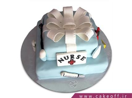 کیک روز پرستار - کیک پرستار مهربان | کیک آف