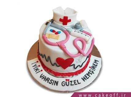 کیک روز پزشک - کیک رو به بهبودی | کیک آف
