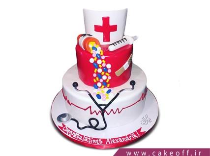 کیک روز پرستار - کیک مای نرس | کیک آف