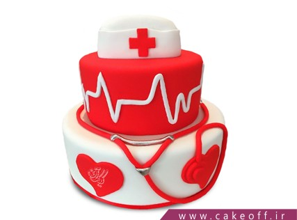 کیک روز پرستار - کیک یک پزشک | کیک آف