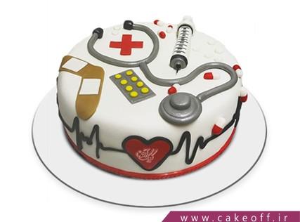 کیک روز پرستار - کیک پزشک دهکده | کیک آف