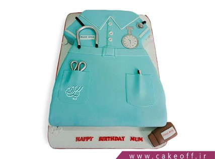 کیک روز پرستار - کیک آلترا | کیک آف