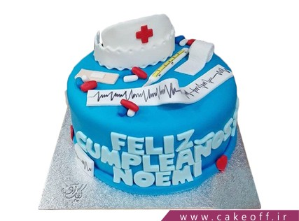 کیک روز پرستار - کیک پرستارم تو باشی | کیک آف