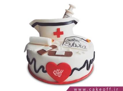 کیک روز پزشک - کیک هارت اتک | کیک آف