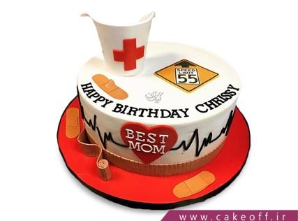 کیک روز پرستار - کیک هاسپیتال | کیک آف
