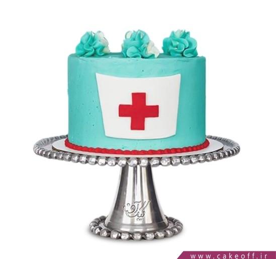 کیک روز پرستار - صلیب سرخ | کیک آف