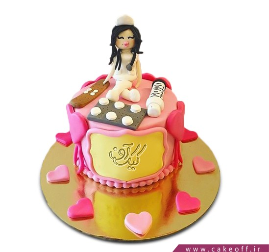 کیک خانم پرستار
