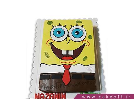 کیک باب اسفنجی شنگول | کیک آف
