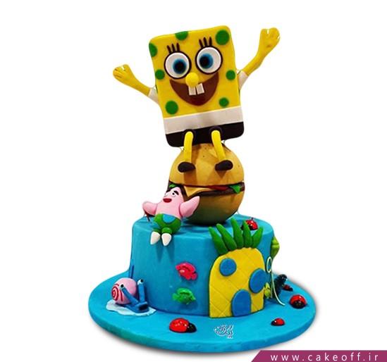 کیک تولد باب اسفنجی و پاتریک 3