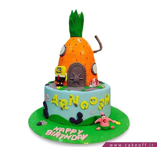 کیک تولد باب اسفنجی و پاتریک 5
