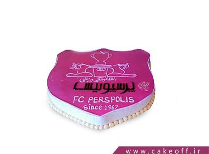 کیک تولد پرسپولیسی - کیک زنده باد پرسپولیس | کیک آف
