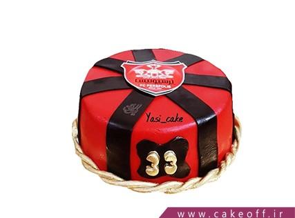 کیک تولد پرسپولیسی - کیک تیم ما قهرمانه | کیک آف