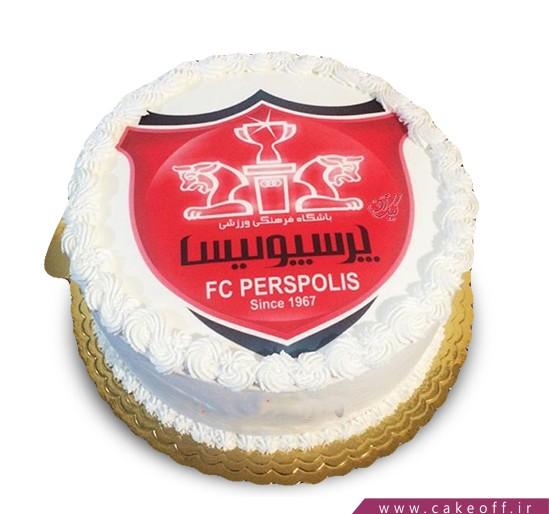 کیک همیشه قرمز