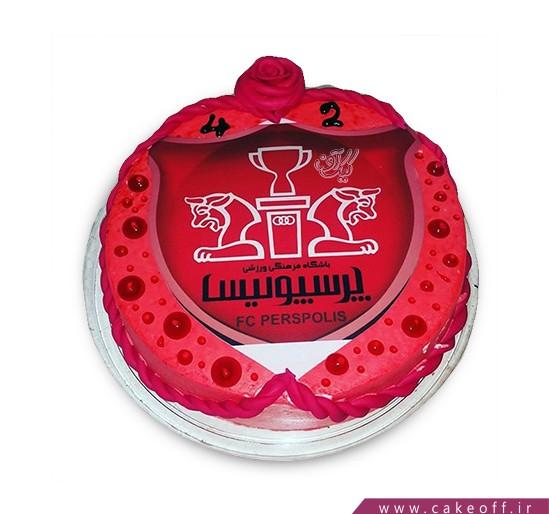 کیک پرسپولیسی - کیک سرور سرخ | کیک آف