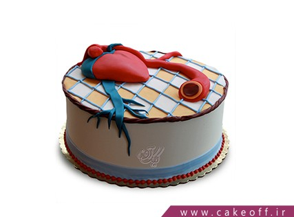 کیک خاص - کیک قلب 3 | کیک آف