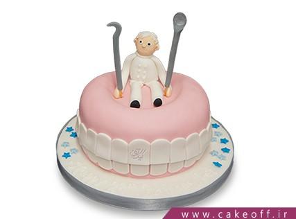 کیک روز پزشک - کیک روز دندانپزشک دنتیستا | کیک آف