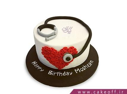 کیک روز دندانپزشک - کیک مرهم دردم | کیک آف