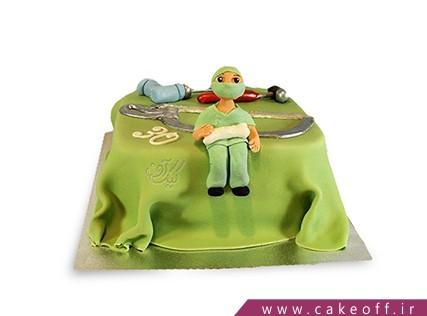 کیک روز پزشک - کیک جراح مهربان | کیک آف