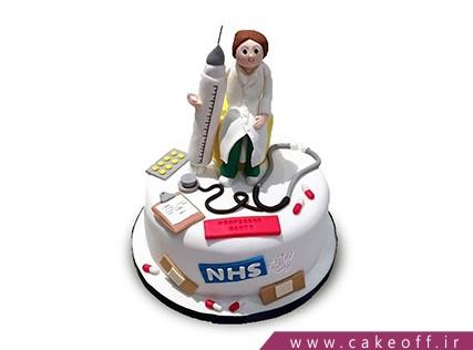 کیک روز پزشک - کیک روز دندانپزشک - کیک مهربان طبیب | کیک آف