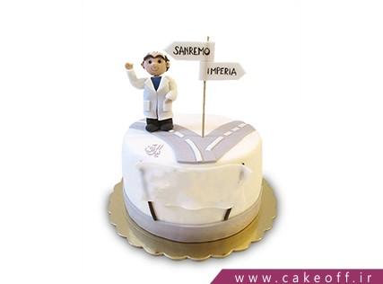 کیک روز پزشک جاده سلامتی | کیک آف