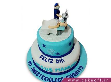 کیک روز پزشک - کیک روز دندانپزشک - کیک دندانپزشک جان | کیک آف