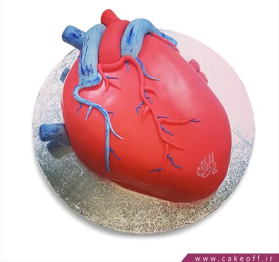کیک خاص - کیک قلب ۱ | کیک آف