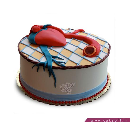 کیک خاص - کیک قلب ۳ | کیک آف