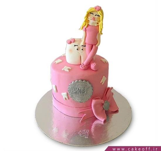 کیک دخترک و دندان