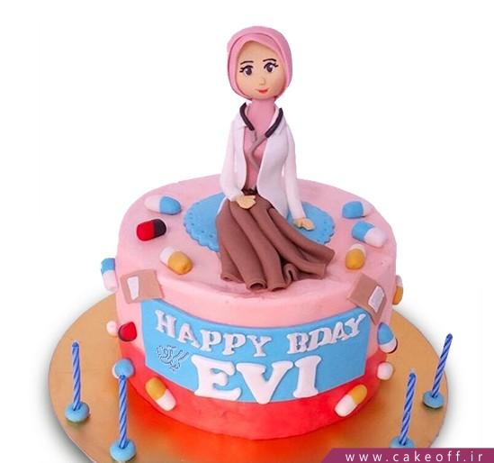 کیک خانم دکتر مهربان