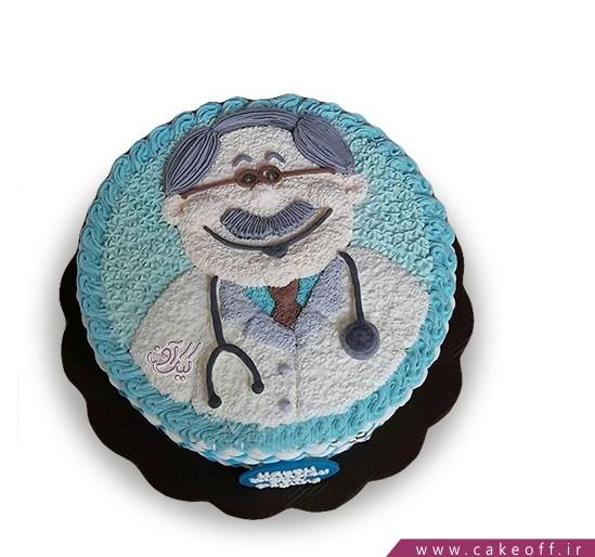 کیک روز پزشک - کیک دردم دوا کن | کیک آف