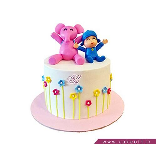 کیک پوکویو و خرسی | کیک آف