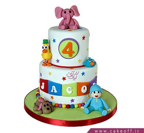 کیک تولد پوکویو خندان | کیک آف