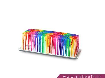 سفارش کیک تولد رنگین کمان - کیک همه رنگ های خدا | کیک آف