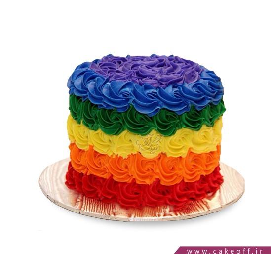 کیک از همه رنگ