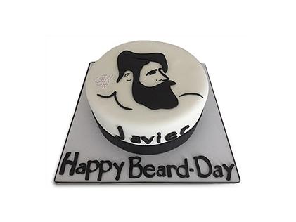 سفارش کیک خاص - کیک روز ریش مبارک | کیک آف