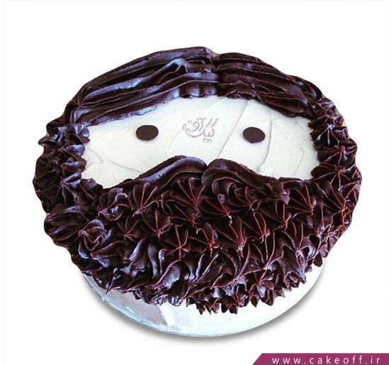 کادوی روز مرد - کیک ریش فندقی | کیک آف